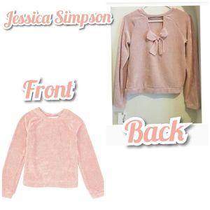 Jessica Simpson big girls mia chenille sweater